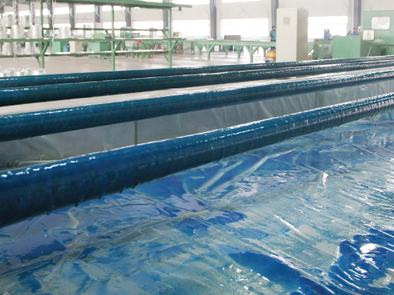 Novafast Glass-fibre reinforced epoxy piping process manufacturing