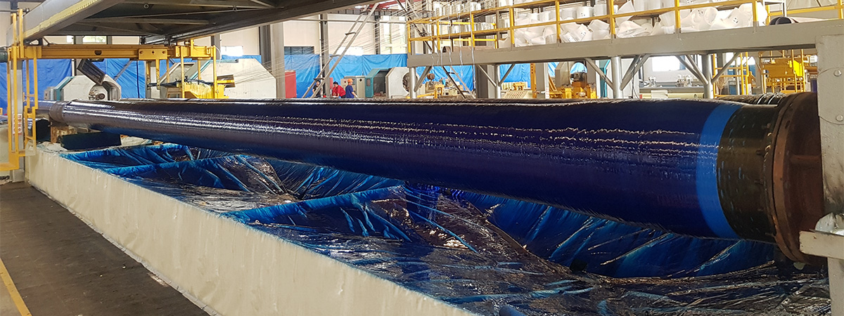 Novafast GRE piping manufacturing process