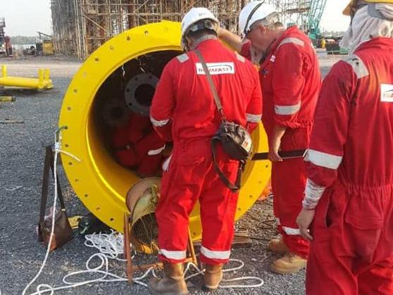 Novafast project management oil platform