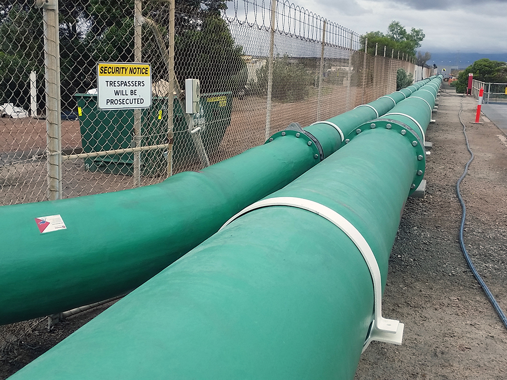 Novafast composite piping for water