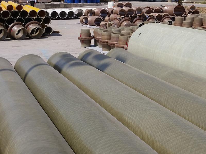 Novaflo 1000AR acid resistant pipe manufacture