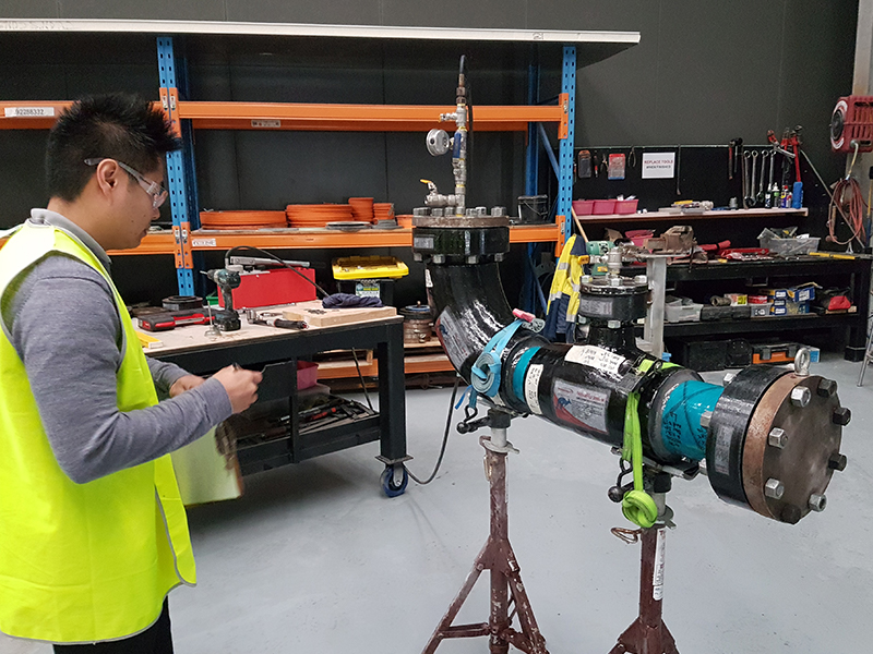 Novafast composite pipe training